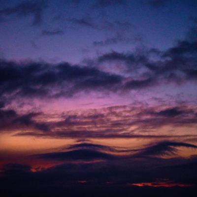 Himmel Dämmerung
